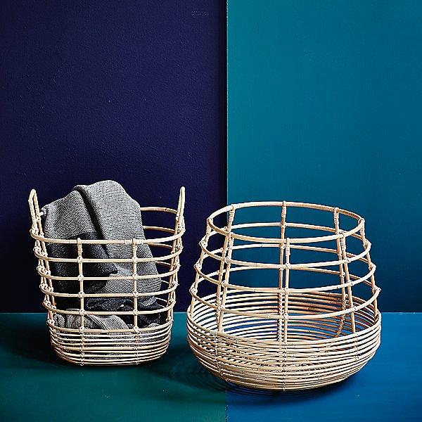 Sweep Rattan Basket