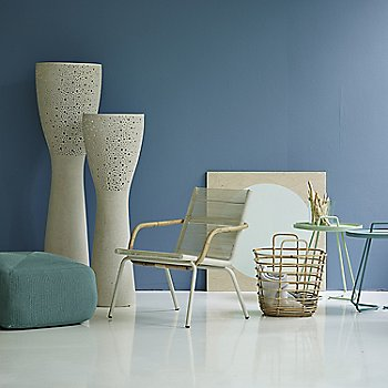 Pictured with the Divine Footstool, On the Move Side Tables and Light-up Floor Lamp (sold separately)