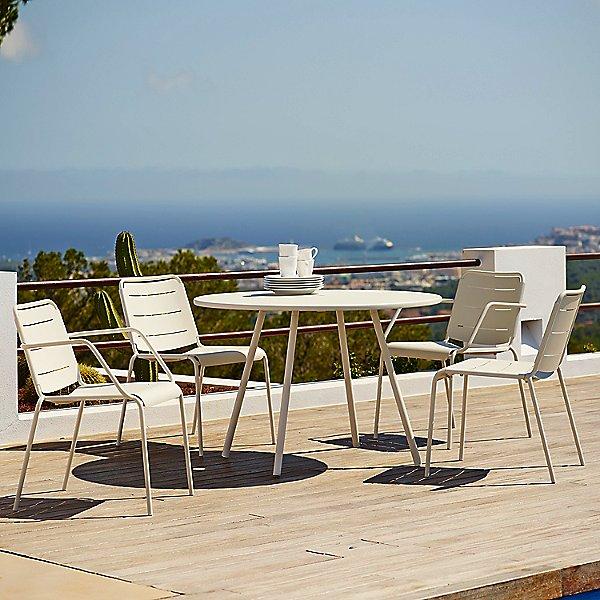 Copenhagen Chair with Armrest, Set of 2
