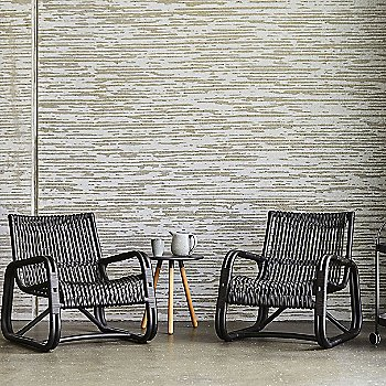 Curve Lounge Chair with AreaTablestool