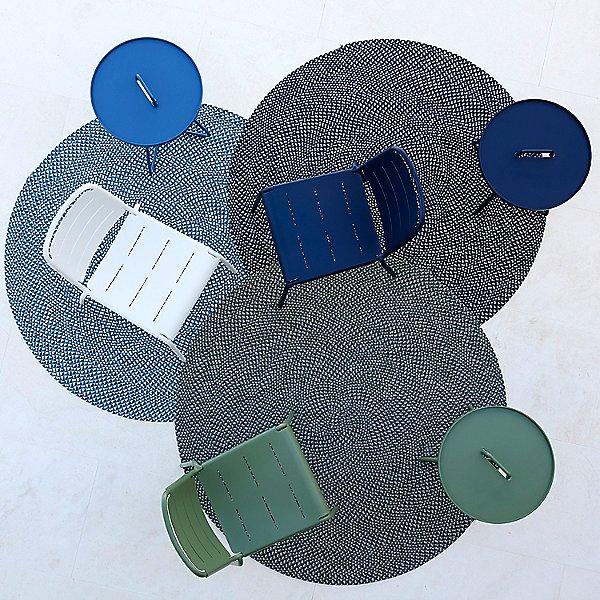 Defined Outdoor Rug Round