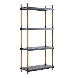 Frame Shelving System Complete Basic Unit