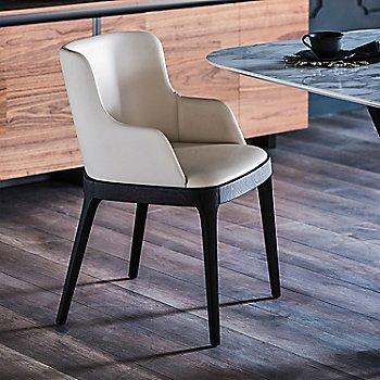 Bianco Soft Leather/Wenge