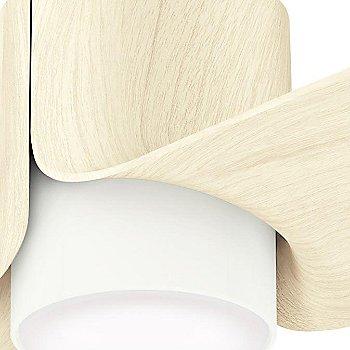 Porcelain White with White Ash blades finish / Detail view