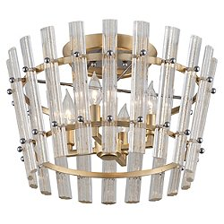 Sauterne Four Light Semi-Flush Mount Ceiling Light