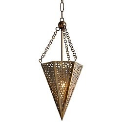 Star Of The East One Light Mini Pendant Light