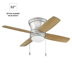 Laval Hugger Ceiling Fan (Pewter/Silver/Maple/52) - OPEN BOX