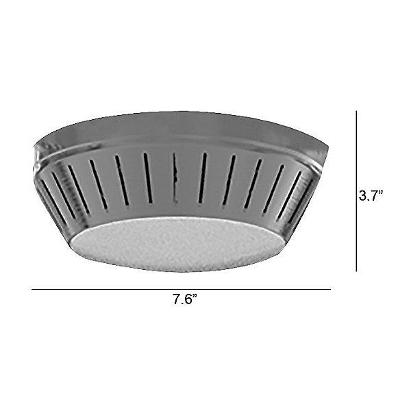 Windswept Ceiling Fan Light Kit