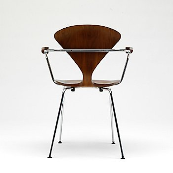 Cherner Metal Base Armchair / Back View