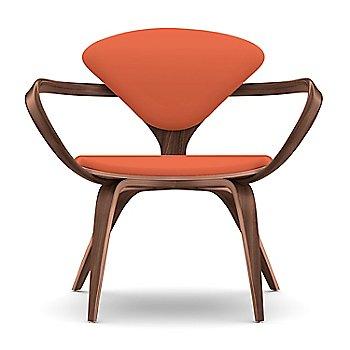 Classic Walnut Finish \ Sabrina Leather Robotic Orange