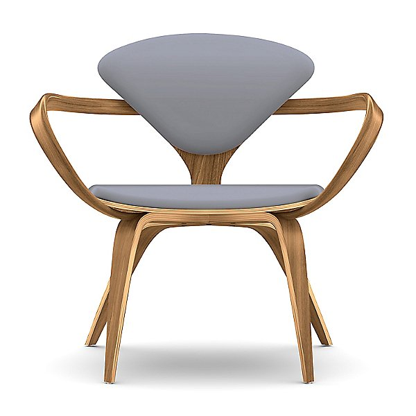 Cherner Seat and Back Upholstered Lounge Armchair