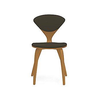 Shown in Walnut: Natural Size / Vincenza Leather: Black Color