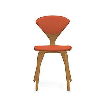 Shown in Walnut: Natural Size / Sabrina Leather: Robotic Orange Color
