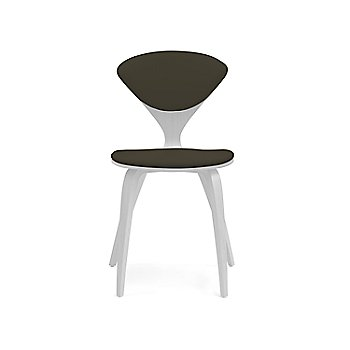 Shown in Lacquer: White Size / Vincenza Leather: Black Color