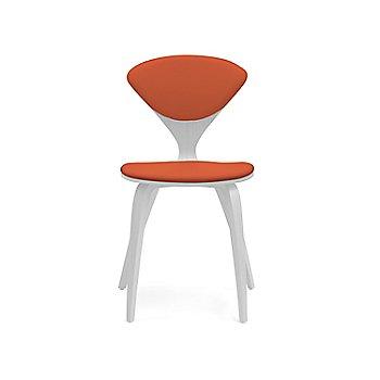 Shown in Lacquer: White Size / Sabrina Leather: Robotic Orange Color