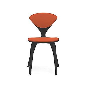 Shown in Walnut: Ebonized Size / Sabrina Leather: Robotic Orange Color