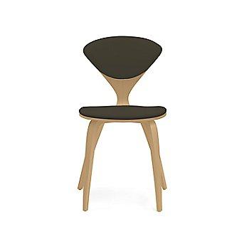 Shown in Oak: White Rift Cut Size / Vincenza Leather: Black Color