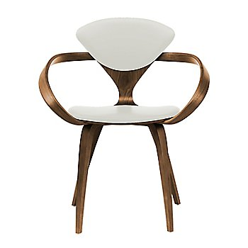 Natural Walnut Seat & Legs, Solid Walnut Arms / Divina 106