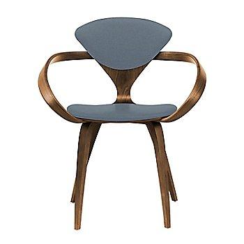 Natural Walnut Seat & Legs, Solid Walnut Arms / Divina 154