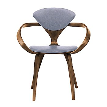 Natural Walnut Seat & Legs, Solid Walnut Arms / Divina 173