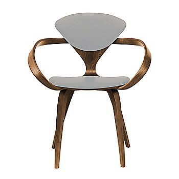 Natural Walnut Seat & Legs, Solid Walnut Arms / Divina 224