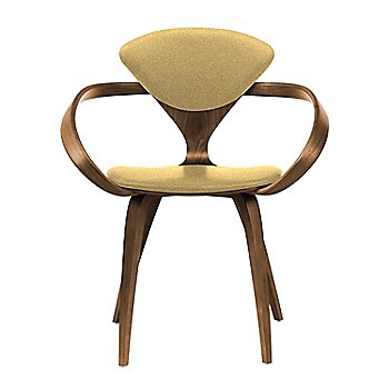 Natural Walnut Seat & Legs, Solid Walnut Arms / Divina 236