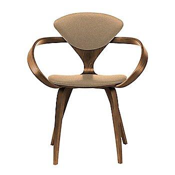 Natural Walnut Seat & Legs, Solid Walnut Arms / Divina 334