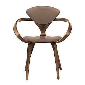 Natural Walnut Seat & Legs, Solid Walnut Arms / Divina 356