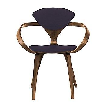 Natural Walnut Seat & Legs, Solid Walnut Arms / Divina 376