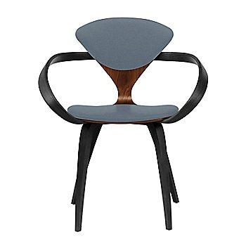 Classic Walnut Seat, Ebony Lacquer Arms & Legs / Divina 154