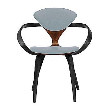 Classic Walnut Seat, Ebony Lacquer Arms & Legs / Divina 171