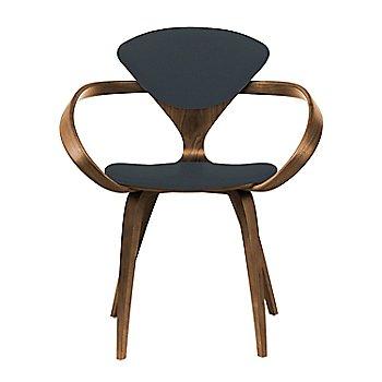 Natural Walnut Seat & Legs, Solid Walnut Arms / Divina 384