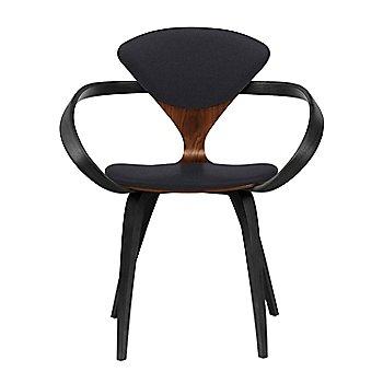 Classic Walnut Seat, Ebony Lacquer Arms & Legs / Divina 191
