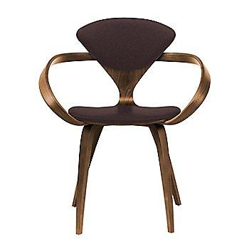 Natural Walnut Seat & Legs, Solid Walnut Arms / Divina 393