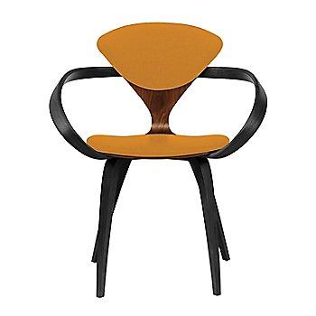 Classic Walnut Seat, Ebony Lacquer Arms & Legs / Divina 536