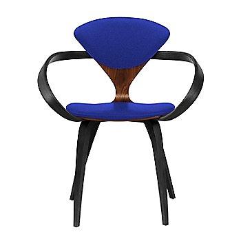 Classic Walnut Seat, Ebony Lacquer Arms & Legs / Divina 782