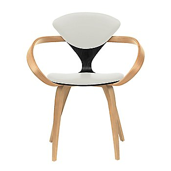 Ebony Lacquer Seat, Natural Beech Arms & Legs / Divina 106