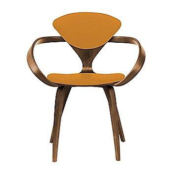 Natural Walnut Seat & Legs, Solid Walnut Arms / Divina 536