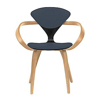Ebony Lacquer Seat, Natural Beech Arms & Legs / Divina 181