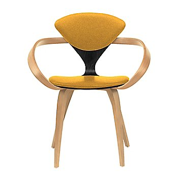 Ebony Lacquer Seat, Natural Beech Arms & Legs / Divina 462