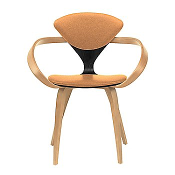 Ebony Lacquer Seat, Natural Beech Arms & Legs / Divina 526