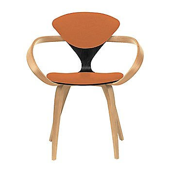 Ebony Lacquer Seat, Natural Beech Arms & Legs / Divina 542
