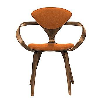 Natural Walnut Seat & Legs, Solid Walnut Arms / Divina 552