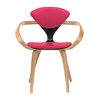 Ebony Lacquer Seat, Natural Beech Arms & Legs / Divina 626