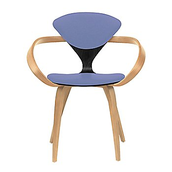 Ebony Lacquer Seat, Natural Beech Arms & Legs / Divina 676
