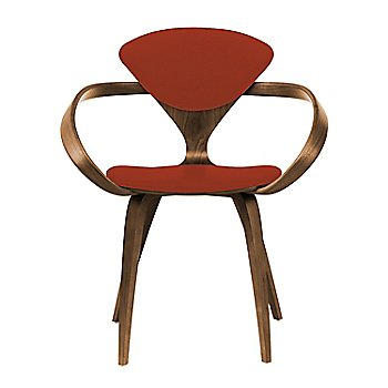 Natural Walnut Seat & Legs, Solid Walnut Arms / Divina 562