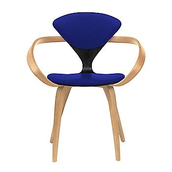 Ebony Lacquer Seat, Natural Beech Arms & Legs / Divina 686