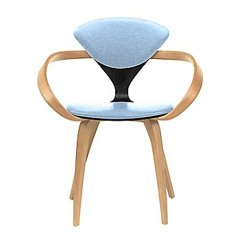 Ebony Lacquer Seat, Natural Beech Arms & Legs / Divina 712