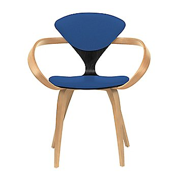 Ebony Lacquer Seat, Natural Beech Arms & Legs / Divina 756
