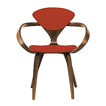 Natural Walnut Seat & Legs, Solid Walnut Arms / Divina 584